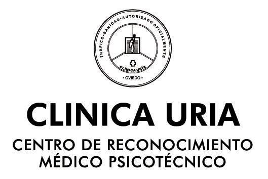 Logo clínica uria